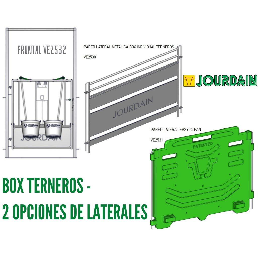 BOX TERNEROS - 2 OPCIONES DE LATERALES
