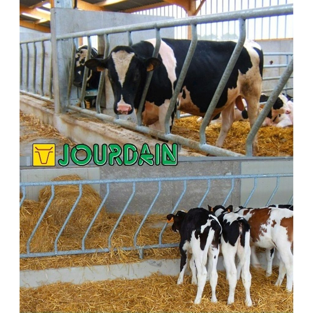 Panel oblicuo para vacas y terneros