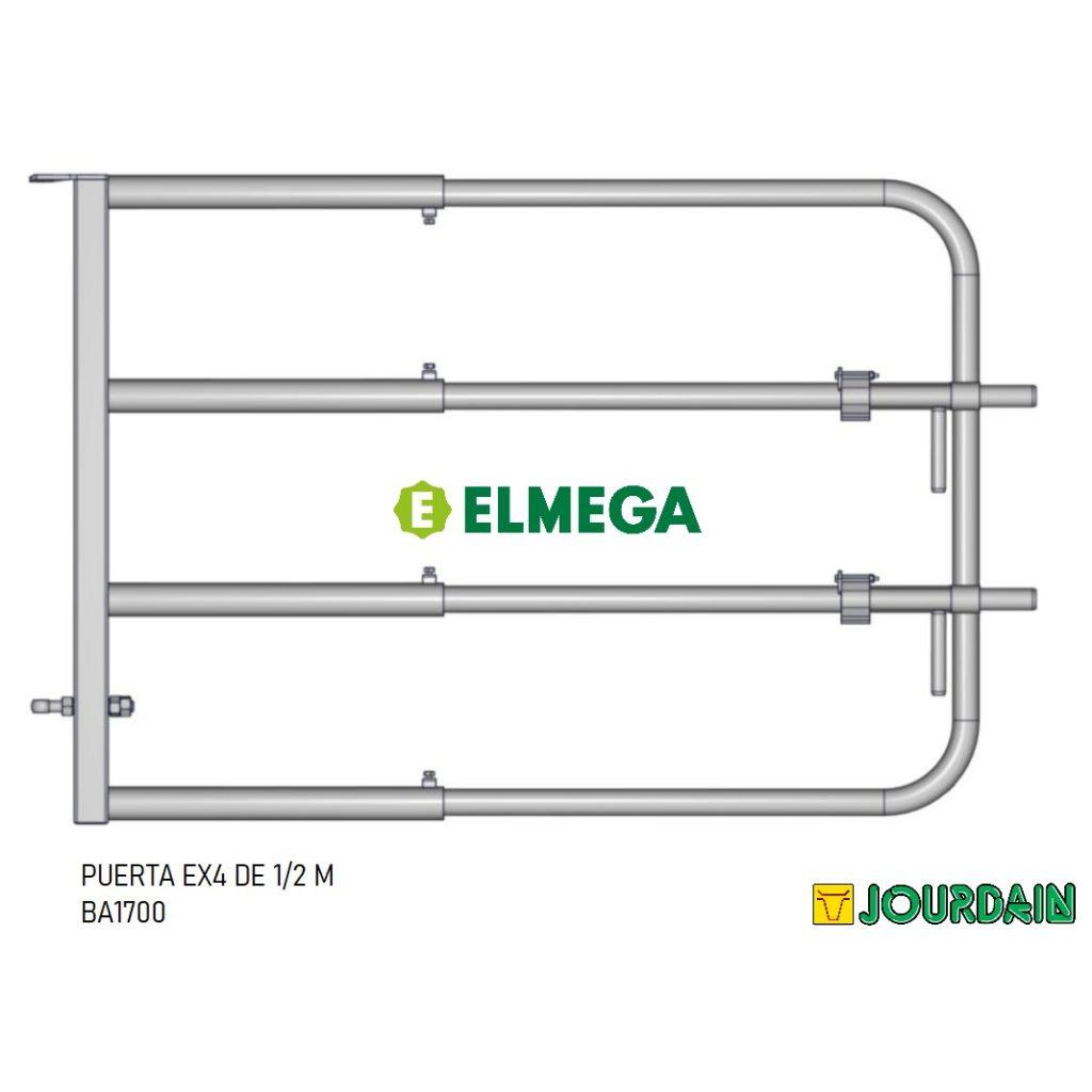 PUERTA EX4 DE 1-2 M