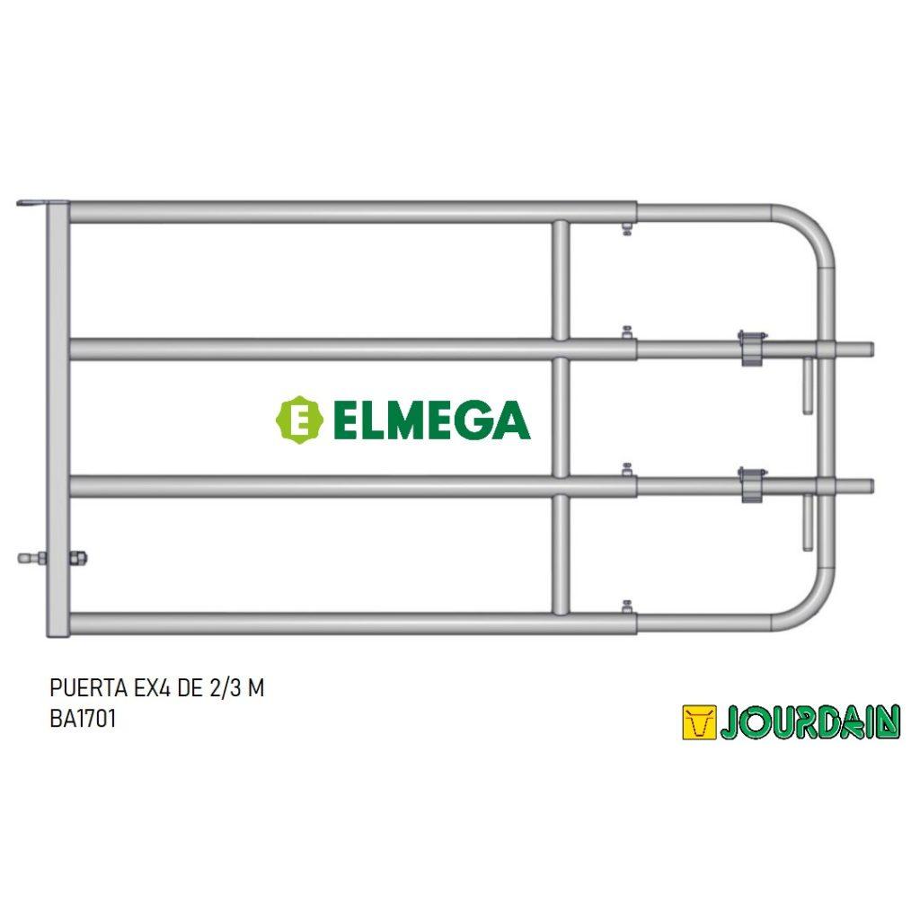 PUERTA EX4 DE 2-3M