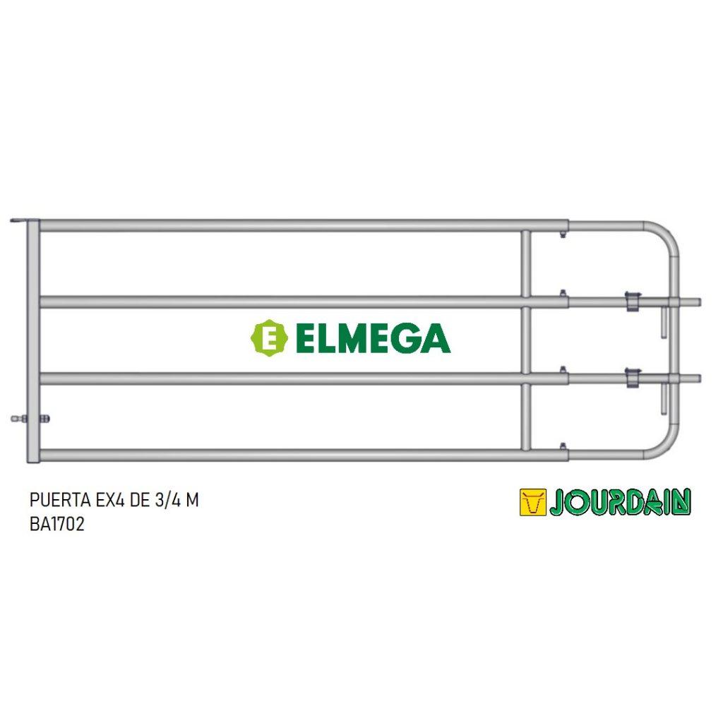 PUERTA EX4 DE 3-4 M