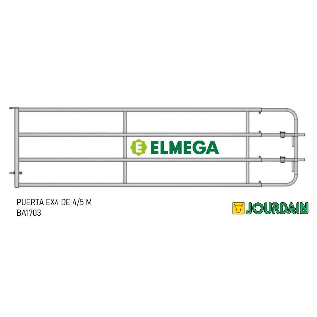PUERTA EX4 DE 4-5 M