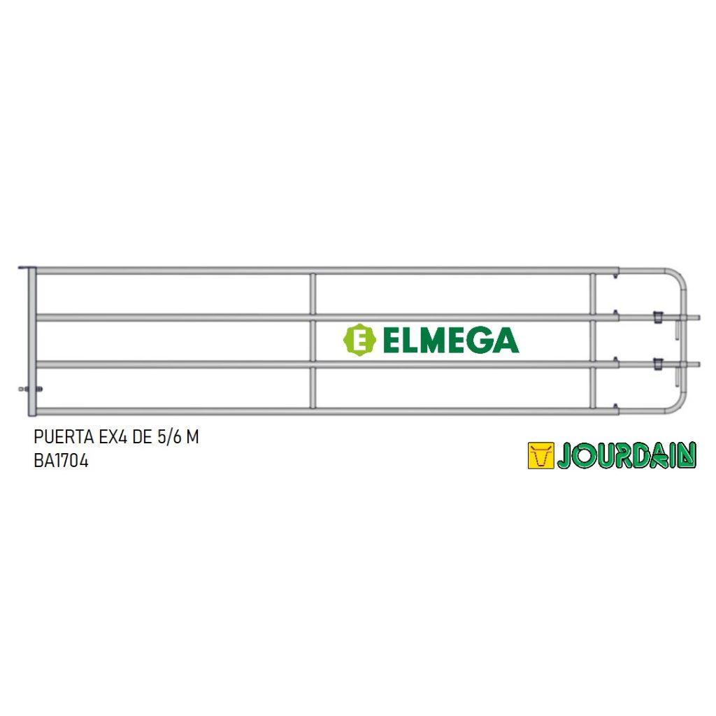 PUERTA EX4 DE 5-6 M
