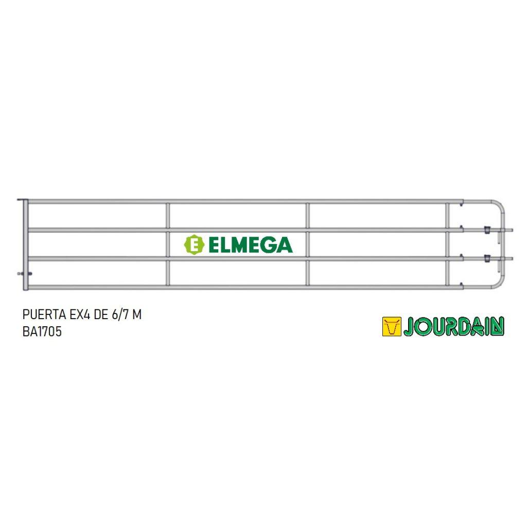 PUERTA EX4 DE 6-7 M